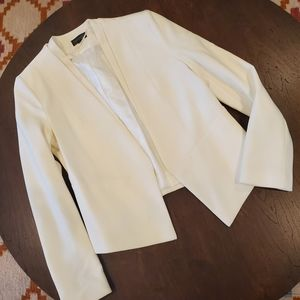 NWOT Topshop winter white blazer US 6